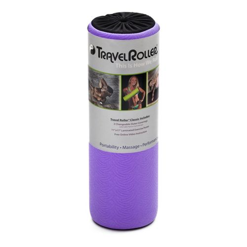Fitter First Travel Roller Injury Recovery - Purple