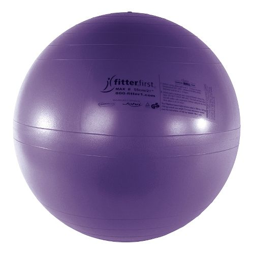 Fitter First Classic Exercise Ball 55cm Fitness Equipment - Purple