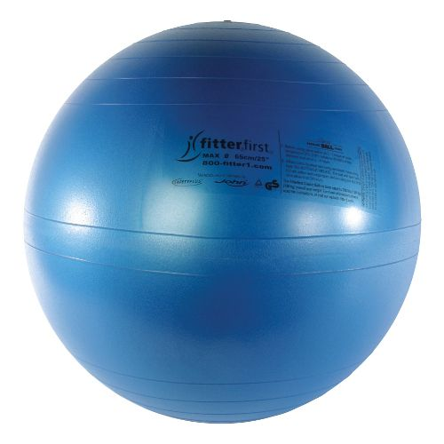 Fitter First Classic Exercise Ball 65cm Fitness Equipment - Blue