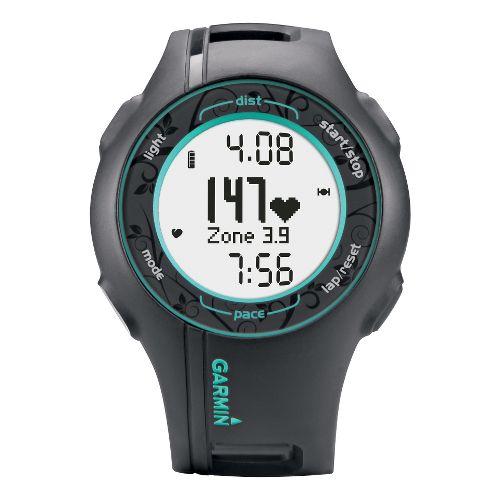 Womens Garmin Forerunner 210 GPS + HRM Monitors - Teal