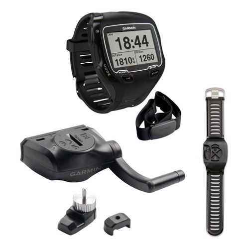 Garmin Forerunner 910XT Triathlon Bundle Monitors - Black