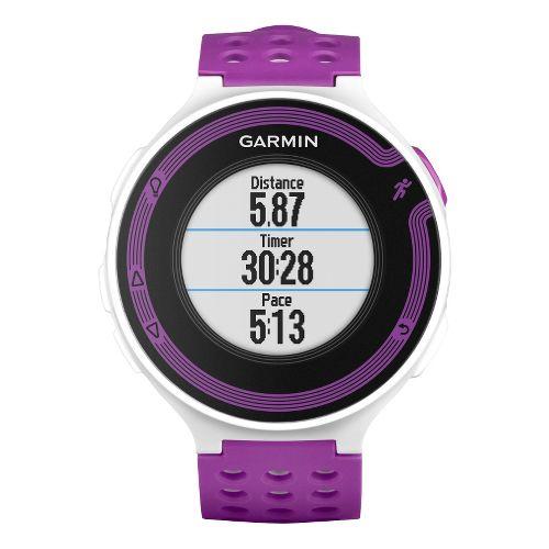 Garmin Forerunner 220 GPS Monitors - White/Violet