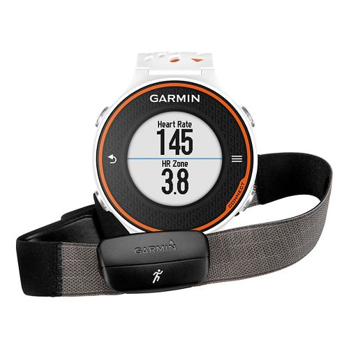 Garmin Forerunner 620 GPS with HRM Run Soft Strap Monitors - Orange/White