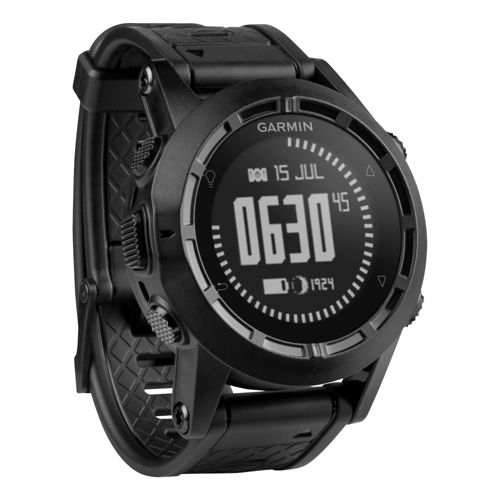 Garmin Tactix GPS Watch Monitors - Black