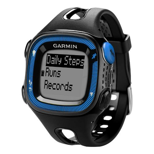 Garmin Forerunner 15 GPS Large Monitors - Black/Blue