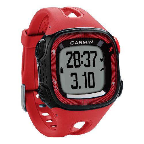 Garmin Forerunner 15 GPS Large Monitors - Red/Black
