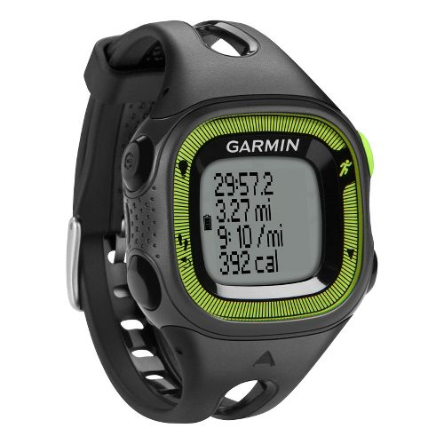 Garmin Forerunner 15 GPS Small Monitors - Black/Green