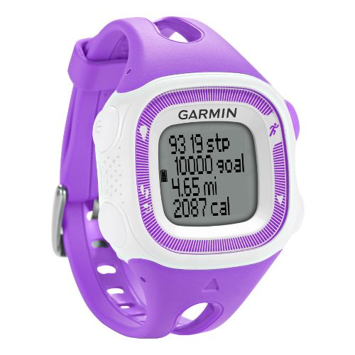 Garmin Forerunner 15 GPS Small Monitors - Purple/White