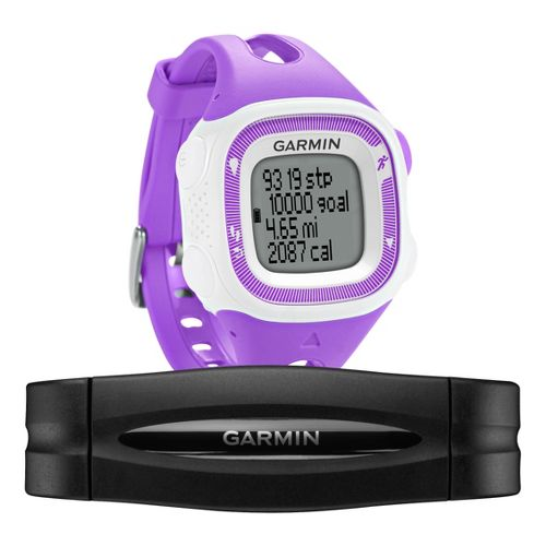 Garmin Forerunner 15 GPS Small with Heart Rate Monitor - Purple/White