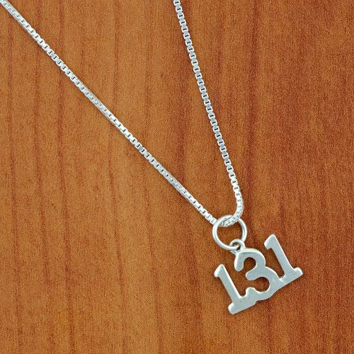 Gone For a Run 13.1 Necklace Fitness Equipment - Sterling/Silver