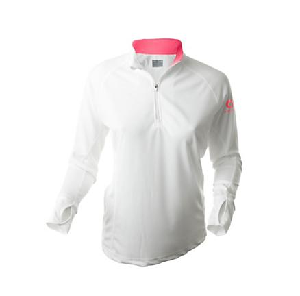 Womens Greenlayer Evolution Half-Zip Long Sleeve Tee Technical Tops
