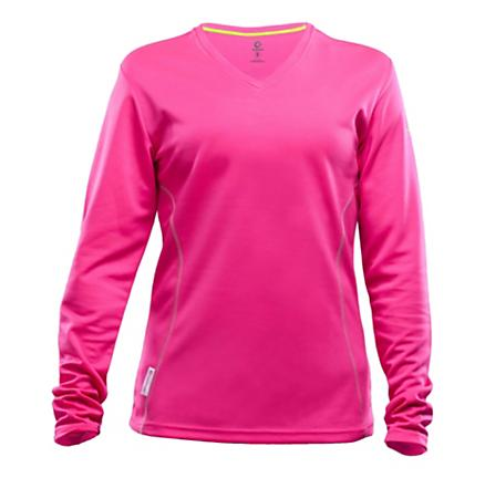 Womens Greenlayer Evolution Long Sleeve Tee No Zip Technical Tops