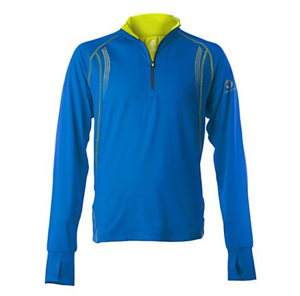 Mens Greenlayer Twilight Half-Zip Long Sleeve Tee Technical Tops