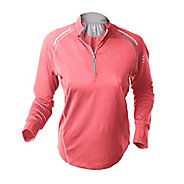 Womens Greenlayer Twilight Half-Zip Long Sleeve Tee Technical Tops