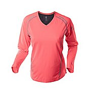 Womens Greenlayer Twilight Long Sleeve Tee No Zip Technical Tops