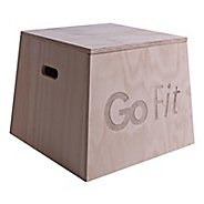 "GoFit Wood Plyo Box 18"" Fitness Equipment"