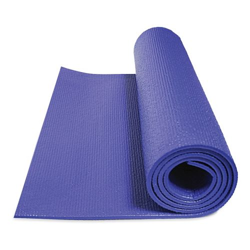 GoFit Double Thick Yoga Mat 7mm Fitness Equipment - Blue