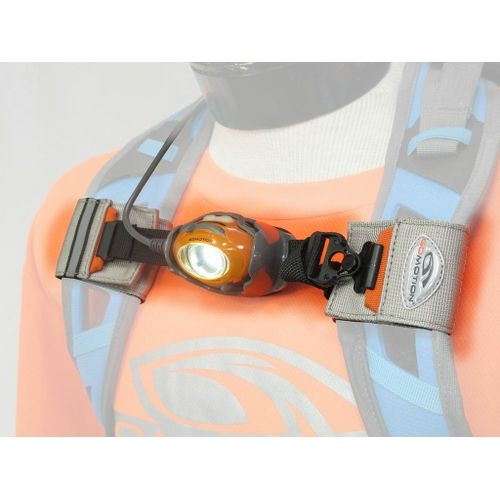 GoMotion Fusion Backpack Light Safety - Grey