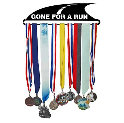 Gone For a Run Gone For A Run MedalART - Race Medal Hanger Holders