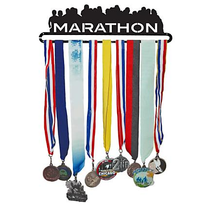 Gone For a Run Marathon MedalART - Race Medal Hanger Holders