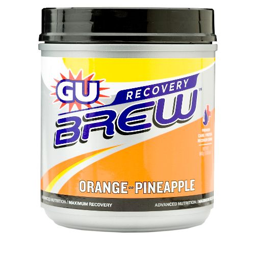 GU Brew Recovery Drink 14 servings Canister Nutrition - null