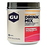 GU Brew Recovery Drink 14 servings Canister Nutrition