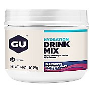 GU Hydration Drink Mix 24 serving Canister Nutrition