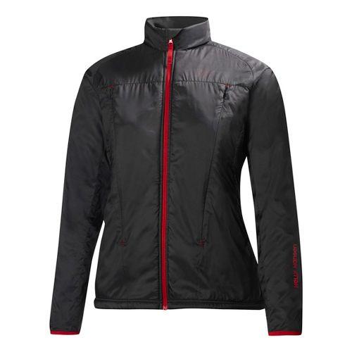 Womens Helly Hansen H2 Flow Running Jackets - Black L