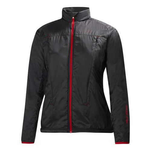 Womens Helly Hansen H2 Flow Running Jackets - Black XS