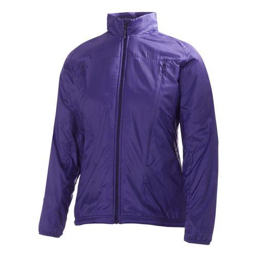 Womens Helly Hansen H2 Flow Running Jackets - Purple M