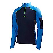 Mens Helly Hansen Charger Windblock Midlayer Long Sleeve 1/2 Zip Technical Tops