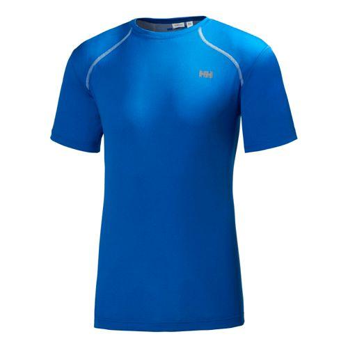 Mens Helly Hansen HH Cool Short Sleeve Technical Tops - Cobalt Blue M