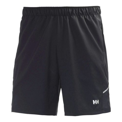 Mens Helly Hansen Pace Training 2 Lined Shorts - Black M
