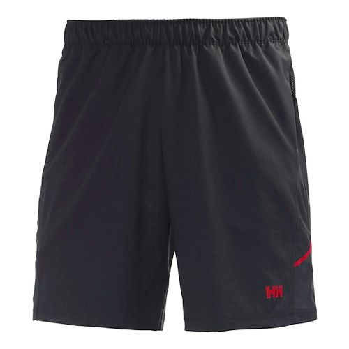 Mens Helly Hansen Pace Training 2 Lined Shorts - Red XXL