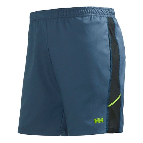Mens Helly Hansen Pace Training 2 Lined Shorts - Deep Steel S