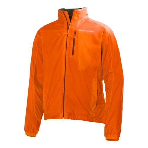 Mens Helly Hansen Odin Foil Outerwear Jackets - Bright Orange XL