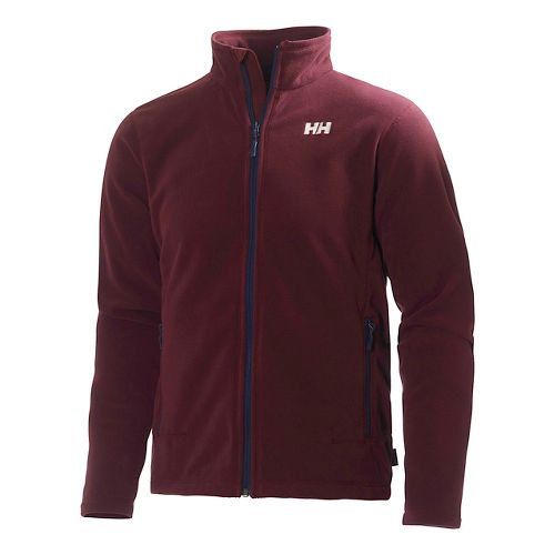 Mens Helly Hansen Mount Prostretch Outerwear Jackets - Bordeaux XS
