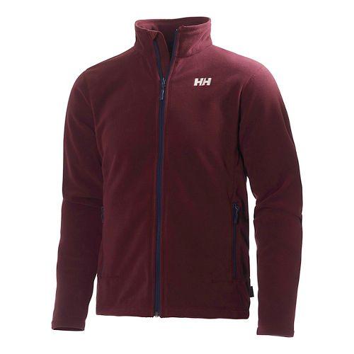 Mens Helly Hansen Mount Prostretch Outerwear Jackets - Bordeaux XXL