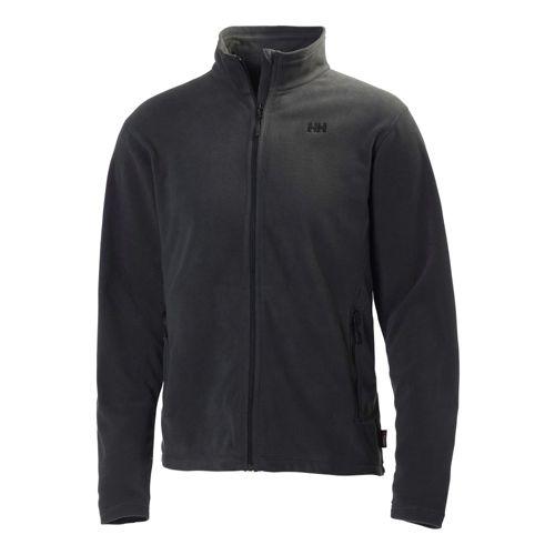 Mens Helly Hansen Mount Prostretch Outerwear Jackets - Ebony 3X