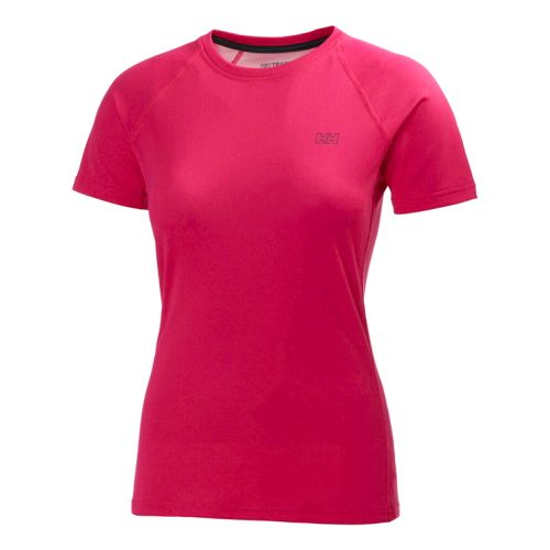 Womens Helly Hansen HH Cool Short Sleeve Technical Tops - Magenta XL