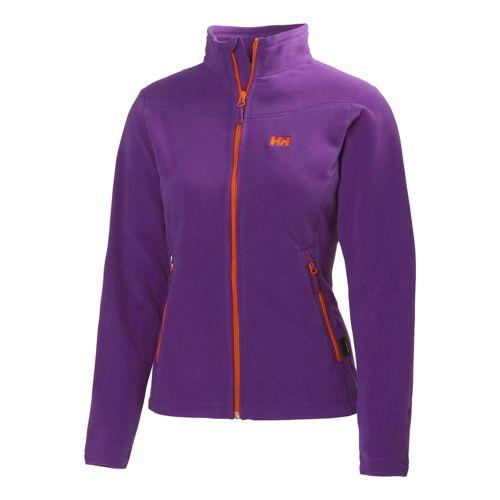 Womens Helly Hansen Mount Prostretch Outerwear Jackets - Essential Purple XS