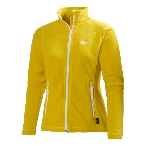 Womens Helly Hansen Mount Prostretch Outerwear Jackets - Moon Yellow XL