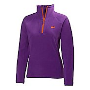 Womens Helly Hansen Mount Prostretch 1/2 Zip Long Sleeve Technical Tops