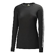 Womens Helly Hansen HH Dry Original Long Sleeve No Zip Technical Tops