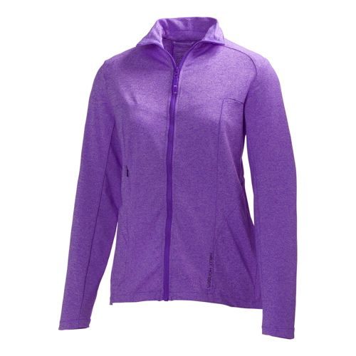 Womens Helly Hansen Odin Lite Outerwear Jackets - Essential Purple XL