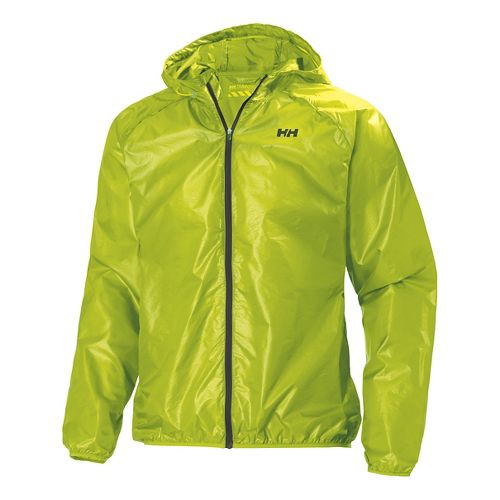 Mens Helly Hansen Feather Outerwear Jackets - Lime S