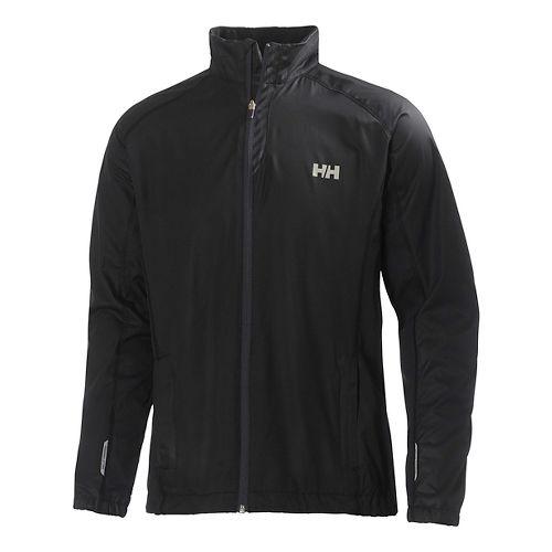 Mens Helly Hansen Pace Outerwear Jackets - Black XXL