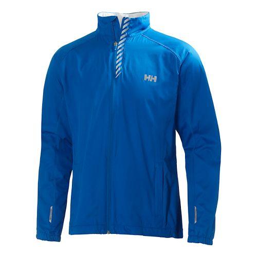 Mens Helly Hansen Pace Outerwear Jackets - Cobalt L