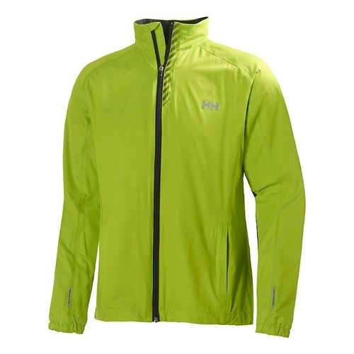 Mens Helly Hansen Pace Outerwear Jackets - Lime S