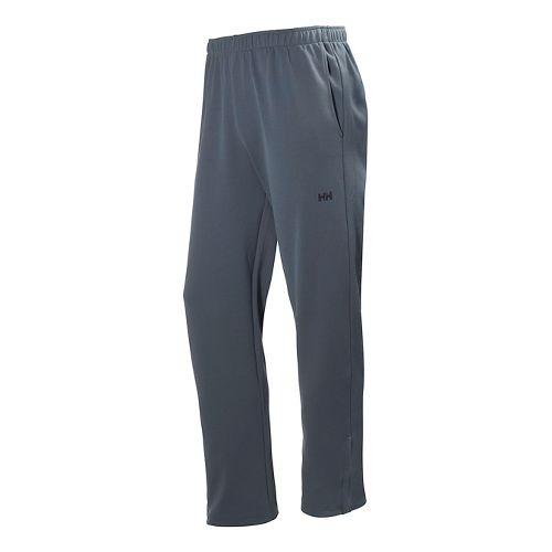 Mens Helly Hansen Active Warm Up Full Length Pants - Arctic Grey M
